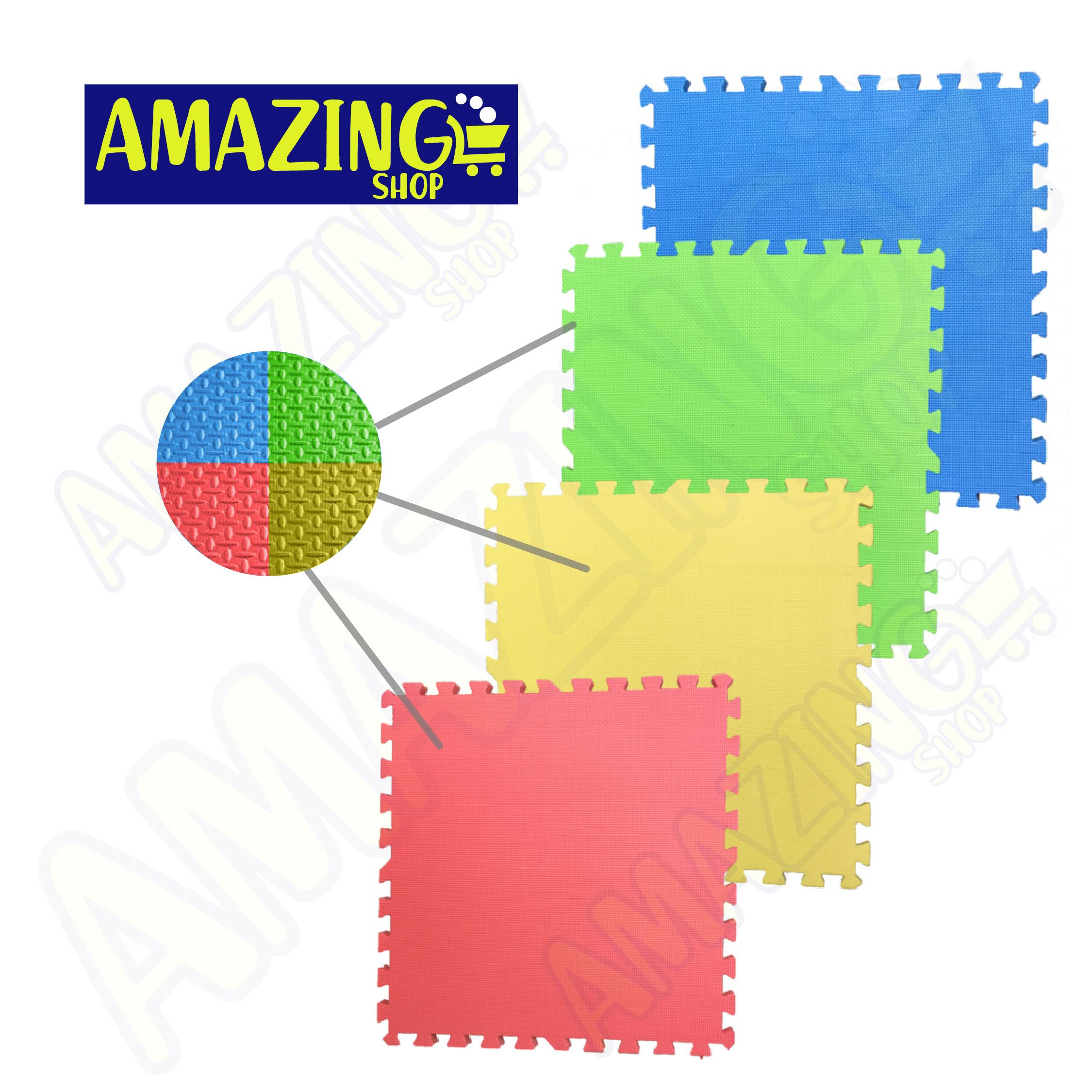 Alfombras de Foamy: Alfombra de Foamy - Colores Lisos